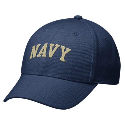 Nike Naval Academy Swoosh Flex Hat - One Size e0c05c32ab6