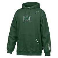 Hawaii Nike Practice Fleece Hoody