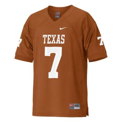 new product 79264 642c6 Nike Texas Longhorns Authentic Football Jersey - Orange #7