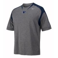 Penn State Nike S/s Football Training Top