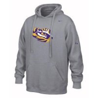 Lsu Nike Flea Flicker Fleece Hoody