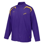 Lsu Nike Hash Mark F/z Jacket
