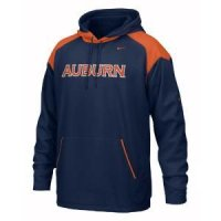 Auburn Nike Face Mask Performance Hoody