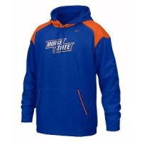 Boise State Nike Face Mask Performance Hoody