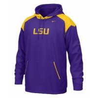 Lsu Nike Face Mask Performance Hoody