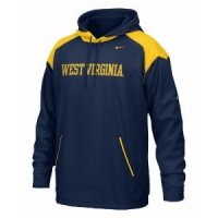 West Virginia Nike Face Mask Performance Hoody