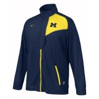 Michigan Nike Training Warm-up Jacket
