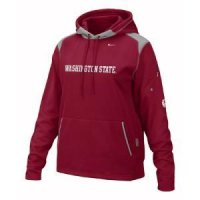 Washington State Women's Nike Face Mask Performance Hoody