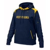 West Virginia Women's Nike Face Mask Performance Hoody
