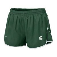 Michigan State Women's Nike Sister Tempo Short