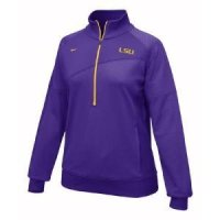 Lsu Women's Nike 1/4 Zip Top