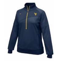West Virginia Women's Nike 1/4 Zip Top