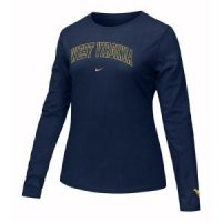 West Virginia Women's Nike Long-sleeve Arch Tee