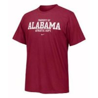 Alabama Crimson Tide T-shirt - Training Locker Room By Nike