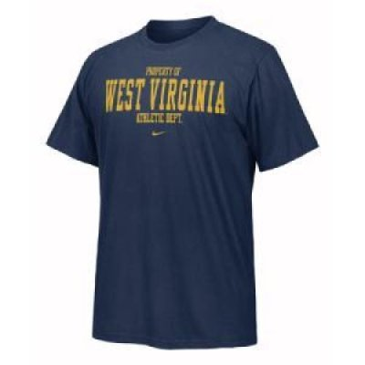 West Virginia Nike Training Locker Room Tee