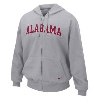 Nike Alabama Crimson Tide Classic Full-zip Fleece Hoody