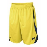 Michigan Nike Fly High Durasheen Short