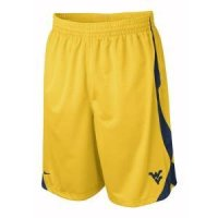 West Virginia Nike Fly High Durasheen Short