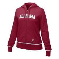 Alabama Crimson Tide Sweatshirt - Nike Women's Classic Full-zip Hooded Sweatshirt