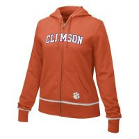 Clemson Tigers Sweatshirt - Nike Women's Classic Full-zip Hooded Sweatshirt