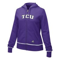 Tcu Horned Frogs Sweatshirt - Nike Women's Classic Full-zip Hooded Sweatshirt