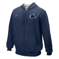 Penn State Nike College Full-zip Fleece Hoody