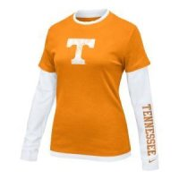 Tennessee Women's L/s College 2-in-1 Tee