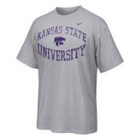 Kansas State Nike Inverted Arch Tee