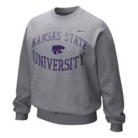 Kansas State Nike Inverted Arch Crew