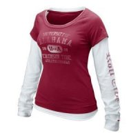 Alabama Women's Nike Long-sleeve Cross Campus Tee