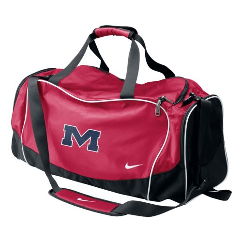 Nike Mississippi Rebels Medium Brasilia Duffel Bag cda24487653a3