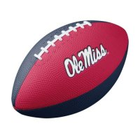 Nike Mississippi Rebels Mini Rubber Football