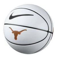 Texas Nike Autograph Basketball