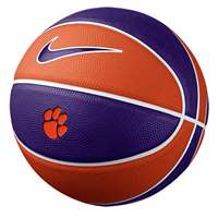 Nike Clemson Tigers Mini Rubber Basketball