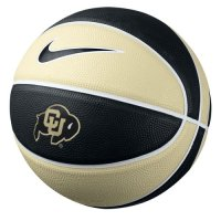 Nike Colorado Buffaloes Buffaloes Mini Rubber Basketball