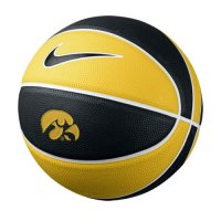 Nike Iowa Hawkeyes Mini Rubber Basketball