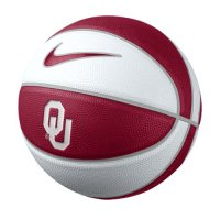 Oklahoma Sooners Basketball - Nike Mini Rubber Basketball