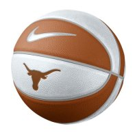 Texas Longhorns Basketball - Nike Mini Rubber Basketball