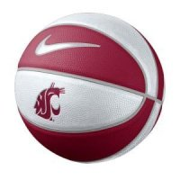 Washington State Nike Mini Rubber Basketball