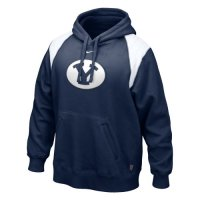 Nike Byu Cougars Hands To The Face Hooded Sweatshirt