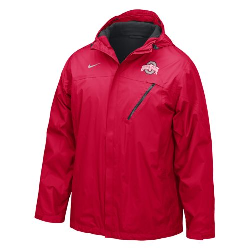 reputable site b76fd d4cbe Nike Ohio State Buckeyes Full-zip Conference Storm-fit Jacket