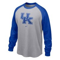 Nike Kentucky Wildcats Long-sleeve Waffle Crew Shirt