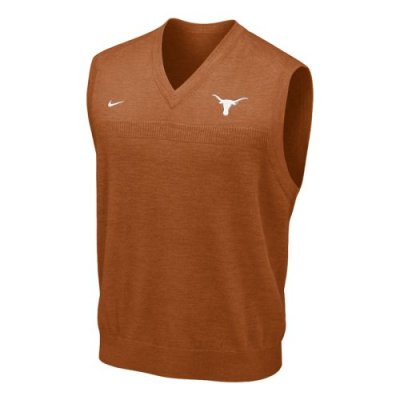 c769c5f62 Texas Longhorns Sweater Vest - Nike Football Sweater Vest