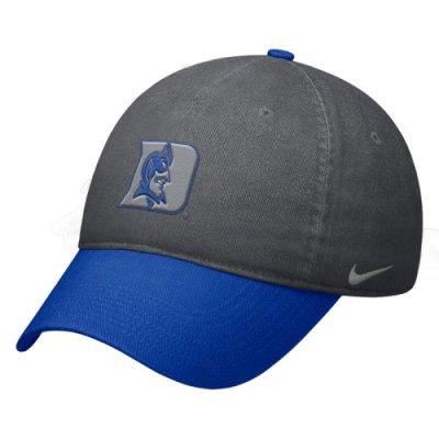 Duke Blue Devils Hat Nike Heritage86 Circus Catch Swoosh Flex Hat