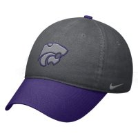 Kansas State Wildcats Hat - Nike Heritage86 Circus Catch Swoosh Flex Hat