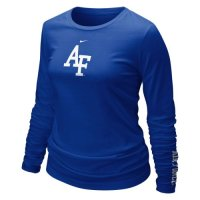 TeamStores.com - Nike Air Force Falcons Womens Long Sleeve Logo T-s