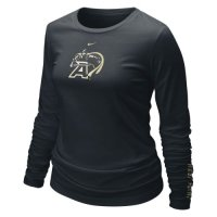 Nike Army Black Knights Womens Long Sleeve Logo T-shirt