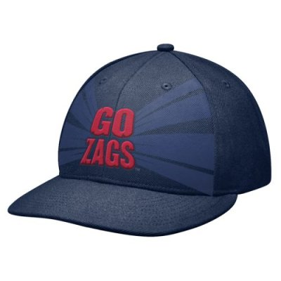 49e08290005 Nike Gonzaga Bulldogs Aero Graphic 643 Flat Bill Swoosh Flex Hat