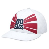Nike Gonzaga Bulldogs Aero Graphic 643 Flat Bill Swoosh Flex Hat