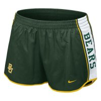 Nike Baylor Bears Womens Pacer Shorts